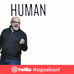 """""""Waiting on hold is not 'synchronous communications', it's just rude"""" - @jeffiel #signalconf https://t.co/a8R8bIYvmm https://t.co/4gRWwOYb47"""