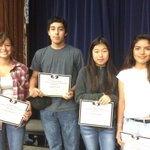 Celebrating 9th grade academic success in Career & Technical Education today! https://t.co/76ePpyNZIE