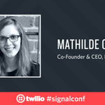 .@Frontapps @collinmathilde is building tech that scales human conversation: https://t.co/a8R8bIYvmm #signalconf https://t.co/iiZGsqaJ6S