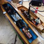 Fantastic talk at the space by George from Swindon Model Boat and Engineering Club. Wow such details, many thanks. https://t.co/Lqb6an4xg9