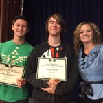 11th grade academic awards for Social Science and Visual & Performing Art at the awards assembly! https://t.co/w4SXBsApkn