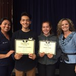 11th grade Indian of the Year recipients! Congratulations to Anjelica Vance & Jorge Lara-Gonzalez! 💙💛 https://t.co/sUo20fYoGf