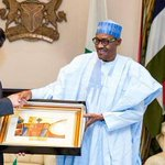 PHOTOS: Buhari receives outgoing ambassadors of Iran and China https://t.co/jyO6LWiBQt https://t.co/wHgxjY85Qe