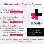 Con motivo del #DíaNaranja los invito a unirse a la iniciativa #NosotrosPorEllas @HeforShe por la igualdad de género https://t.co/LaYXAM14yH