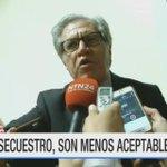 """#ExclusivoRCN """"Las desapariciones de los periodistas no son aceptables"""": @Almagro_OEA2015 https://t.co/X8VA8YmOcL https://t.co/5WuEQog1yB"""