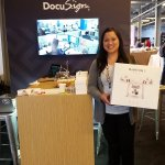 Congrats to @_ksalomon on winning the Phantom 3 drone drawing at the @Twilio #signalconf @DocuSign booth. Have fun! https://t.co/MQP8jszXCW