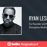 .@ryanleslie is up now on the #signalconf live stream: https://t.co/a8R8bIYvmm https://t.co/XDNZX6u5JD