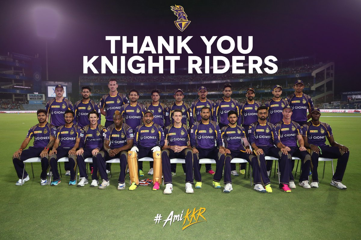 Thank you for being part of an amazing journey. #AmiKKR https://t.co/NjhYp2aTey