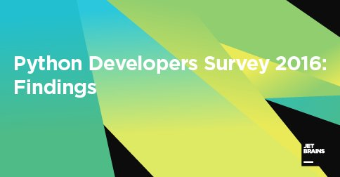 1,000+ developers help identify current trends in the Python world. Here's our findings: https://t.co/pUFIVfHHRA https://t.co/S6KChYHmEb
