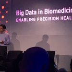 How do you guide #immunotherapy for Cancer?? Richard Chen from @PersonalisInc on developing predictors #bigdatamed https://t.co/j4aaFl8Mva