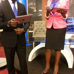 These two look like they were reading for an exam @JoelSsenyonyi & @arinaitwerach getting set for NTVTONIGHT earlier https://t.co/gqOcm1qUIL
