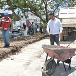 Supervisamos la obra que se está realizando sobre la Av. Agustín Melgar. #CrecerEnGrande https://t.co/DioEdMxjgm