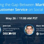 Last chance to sign up for tomorrows webinar with @Discover! https://t.co/eE2D97ddde #customerfirst @leejessh #CX https://t.co/fbdQifnTub