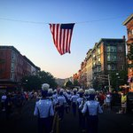 Memorial Day Parade in #Hoboken NJ  Photo by @DanFrigolette https://t.co/NLdiD1s28f