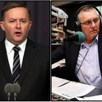 @AlboMP is talking to Ray Hadley now, hitting back at claims he called people in western Sydney racist. #ausvotes https://t.co/xnnU5W5lbX