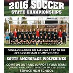Congrats to South Anchorage Wolverines Boys for earning a trip to ASAA/@FNBAlaska 2016 Soccer State Championships! https://t.co/aCiUIGk3lW