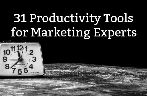 31 Productivity Tools for business and marketing https://t.co/FVPua0D3Fy  #marketing #productivity https://t.co/FDnx8xbqhp