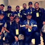 .@Adrian_ElTitan  junto a @BANDARECODITOSS antes del juego de #LosDodgers ⚾️🎤🎺🎧 https://t.co/MqOttQSoYB