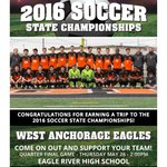 Congrats to West Anchorage Eagles Boys for earning a trip to the ASAA/@FNBAlaska 2016 Soccer State Championships! https://t.co/krKBdApQcq