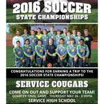 Congrats to Service Cougars Boys for earning a trip to the ASAA/@FNBAlaska 2016 Soccer State Championships! https://t.co/xEgMOIJG2l
