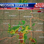 Over 50 lightning strikes with the storm in Ogle/Lee counties w/in the past 5 mins @MyStateline https://t.co/PEfMxJRwbg