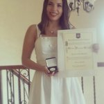Felicidades a @BabyOrtiz medalla al mejor promedio de la generación con 9.4, #orgulloUAC @UACamRector @UACam_Avanza https://t.co/6gAGNXFL05