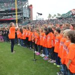 What an amazing opportunity for our students who sang the National Anthem at todays @SFGiants game! https://t.co/9wn5kYb1mz
