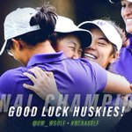 Best of luck in the #FinalFore @UW_WGolf! 🏌🐶    #WOOF @UWAthletics https://t.co/AnQ3EoZVG2