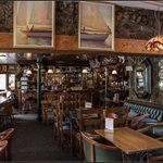 @TeamShaneRichie Inside @TheSpinnakerBar today. A beautiful bar being used for the filming of #Redwater https://t.co/vMhEXJmf37