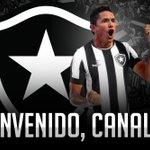 Desejamos sorte e muitos gols com a gloriosa camisa, Canales!   #BotafogoDigital #CanalesÉDoFogão https://t.co/ZthUmuKHB9