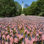 37,000 American Flags on the Boston Common in remembrance of fallen Massachusetts soldiers for this Memorial Day. https://t.co/NZG7chCtpc