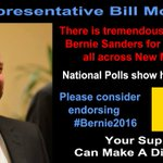 Dear @BillMcCamley, Theres huge support for #Bernie2016 in New Mexico. Please consider endorsing him. #NMPrimary https://t.co/4I8IQicxYZ