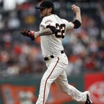 Peavy heads back to the mound for the 7th with a 2-0 lead ???? #SFGiants https://t.co/JfewCtxGlo