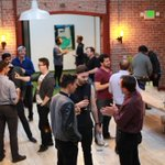 A few snaps from our VIP Member Cocktail Party hosted at The @UploadSF Collective last night. #VR #SF #UploadVR https://t.co/nN1NrpdDCm