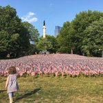 Outside the #SenBudget debate, a Memorial Day tribute on the Boston Common. https://t.co/qpjOJCKBEP