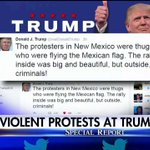 .@realDonaldTrump tweets about the protesters in New Mexico. #SpecialReport https://t.co/qcTxWsqbrc