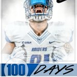 100 Days away from the start of @MT_FBs season! #BlueRaiders #TruePride #100Days https://t.co/gloBX2IMnD