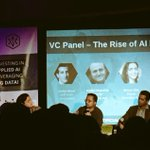 Amazing #venturecapital panel on the rise of #AI #investing with @shivon here at @hackers_ai in #SF https://t.co/OwCOBzGnnx