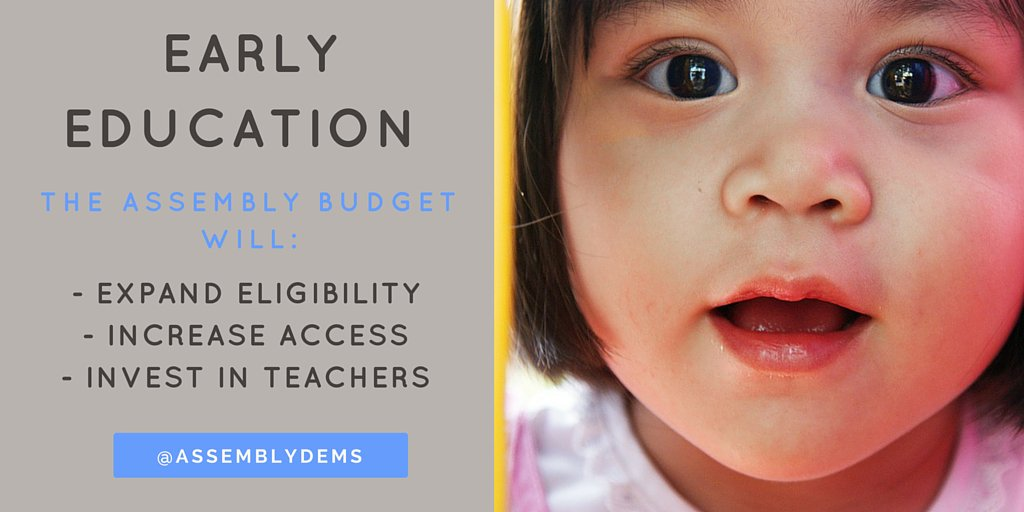 Early childhood education makes all the difference in a child's future - that's why it's a big part of Asm budget. https://t.co/UprCDSU6F4