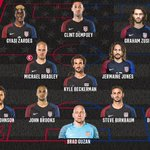 Here is the #USMNT Starting XI for #USAvECU. Tune in to ESPN2 or @UniMas at 7 p.m. CT for kickoff. https://t.co/GkH6SFWNpO