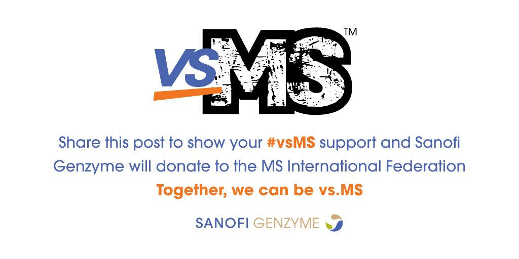 As #WorldMSDay ends, the #vsMS movement continues. Follow the hashtag & learn more at https://t.co/KCGskul6yC https://t.co/hXnsUpFasS