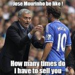 Jose Mourinho to Mata on his 1st day at Man Utd https://t.co/YWVbOUXQNL