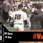 RECAP: @bcraw35 walks it off as the #SFGiants sweep the Padres: https://t.co/yYpKSbHSQF #WalkOff https://t.co/mwDv3LwIZq