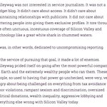 Really good defense of Gawkers style of journalism by @TheRealFuture team. Worth reading. https://t.co/6pRLSwGfhT https://t.co/8ym7yNYdiK
