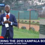 LIVE: @sabitijoseph reporting from Kyadondo where one of the bombs went off on 11 July 2010 ahead of todays verdict https://t.co/wbAvYU7bfs