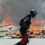 Maestros de la CNTE chocan con policías en #Chiapas https://t.co/2dezlzQQG0 https://t.co/vISBKKanYr