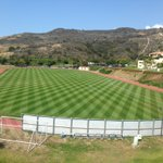 Another beautiful day in Malibu. @WavesSoccer field looks amazing!! https://t.co/WVfylqS0AF
