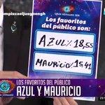 Azul y Mauricio se convirtieron en los primeros jugadores oficiales de #GH2016 #EmpiezaElJuegoEnGH https://t.co/GP9lNzALHQ