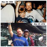 20th anniversary of our first game! @Mariners #ILoveSafecoField #mariners https://t.co/FOYuAWrpKW