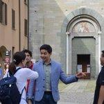 Italy BTS photos @mainedcm @aldenrichards02 Photos from @ComuneComo #ALDUB45thWeeksary https://t.co/wm9owqodbQ